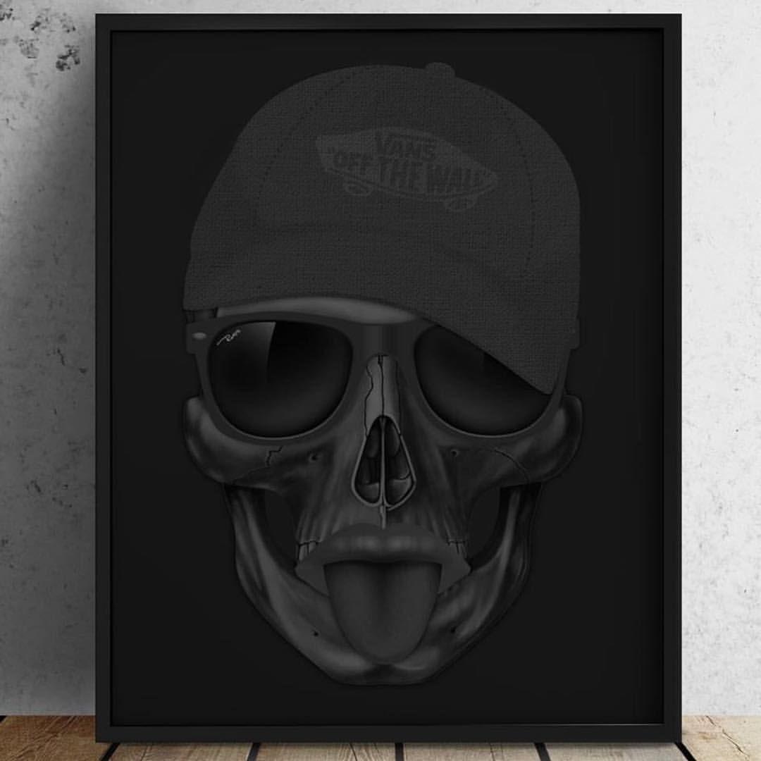 """166 curtidas, 4 comentários - Russ (@fvruss) no Instagram: """"Skull ..."""