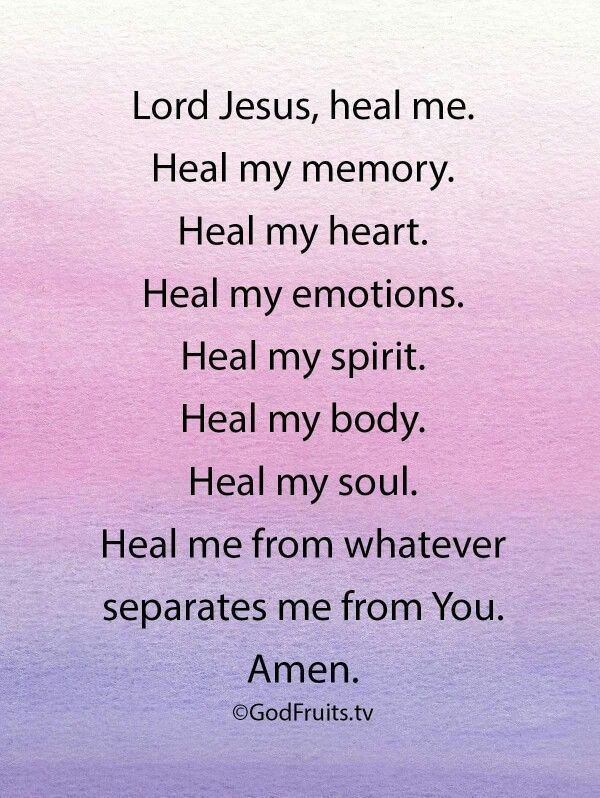 Prayers For Healing Please God Let Me Forget The Past And Live In