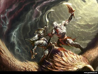 Free 3d Game God Of War Hd Wallpapers Backgrounds Hd