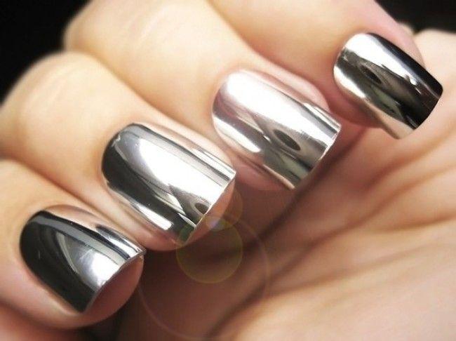 Efecto espejo. www.nuriasabadell.com   #nalis, ungles   Pinterest ...