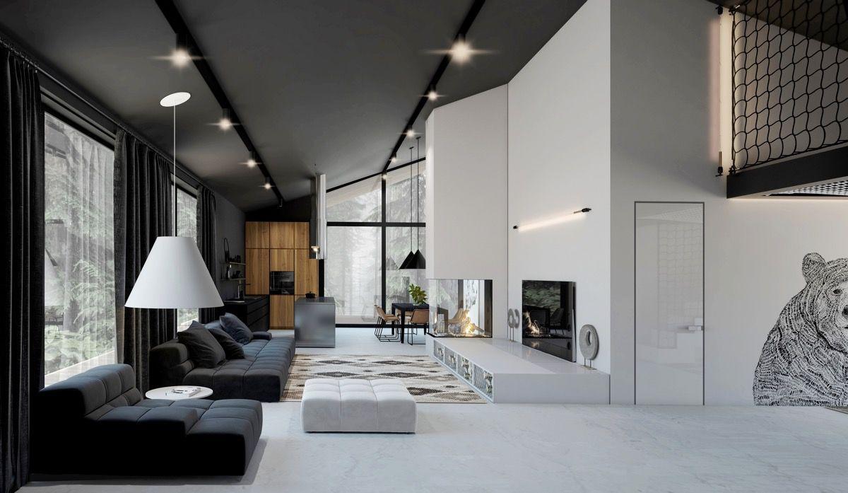 50 Moderne Wohnräume Die Das Herzstück Ihres Hauses Bilden