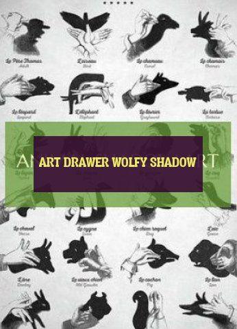 art drawer wolfy shadow