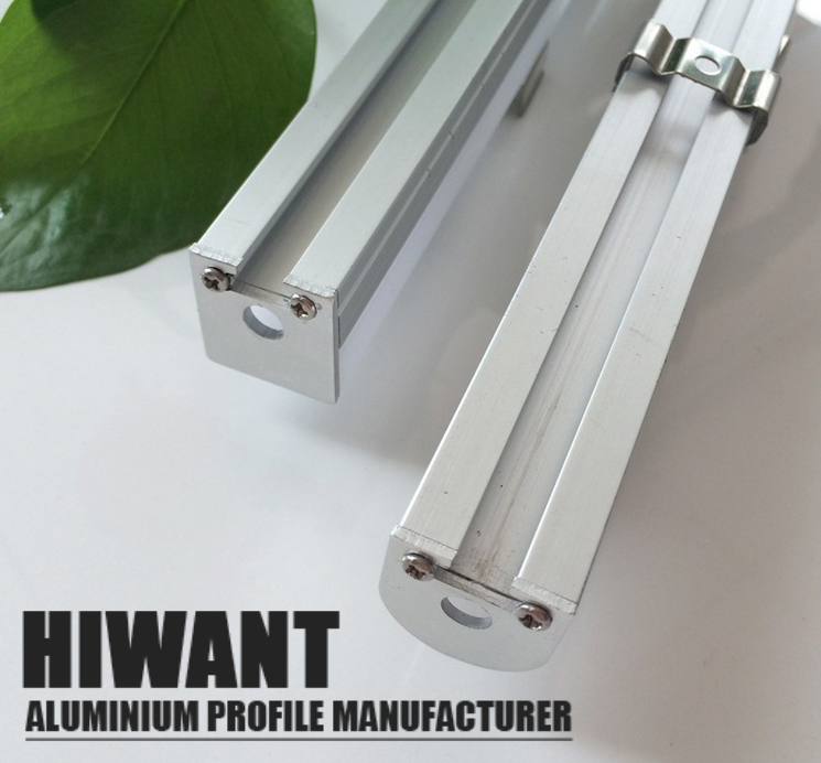 Hot Selling Anodized Aluminium U And V Channel Profile Light Bar Factory Price Aluminum Extrusion Bar Lighting Aluminium