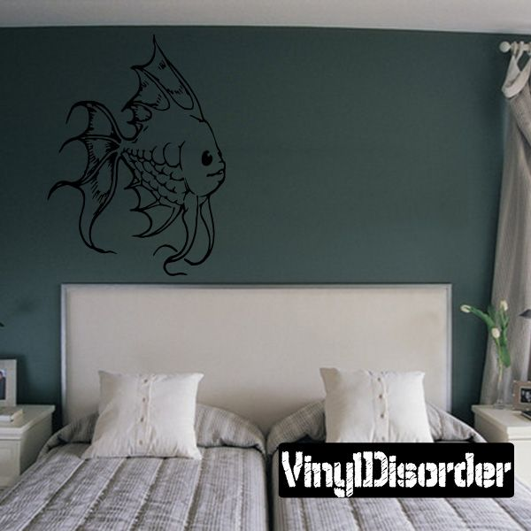 Fish Wall Decal - Vinyl Decal - Car Decal - DC506