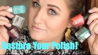 How To Restore Nail Polish That Has Dried Up Fix Sticky Nail Polish Fix Nail Polish Old Nail Polish Nail Polish