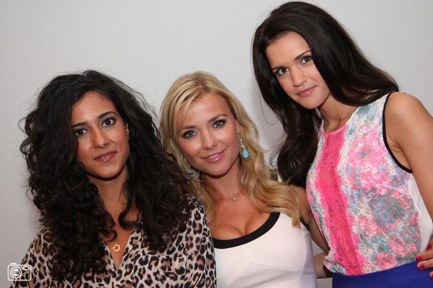 Nina, Lorena en Nuran