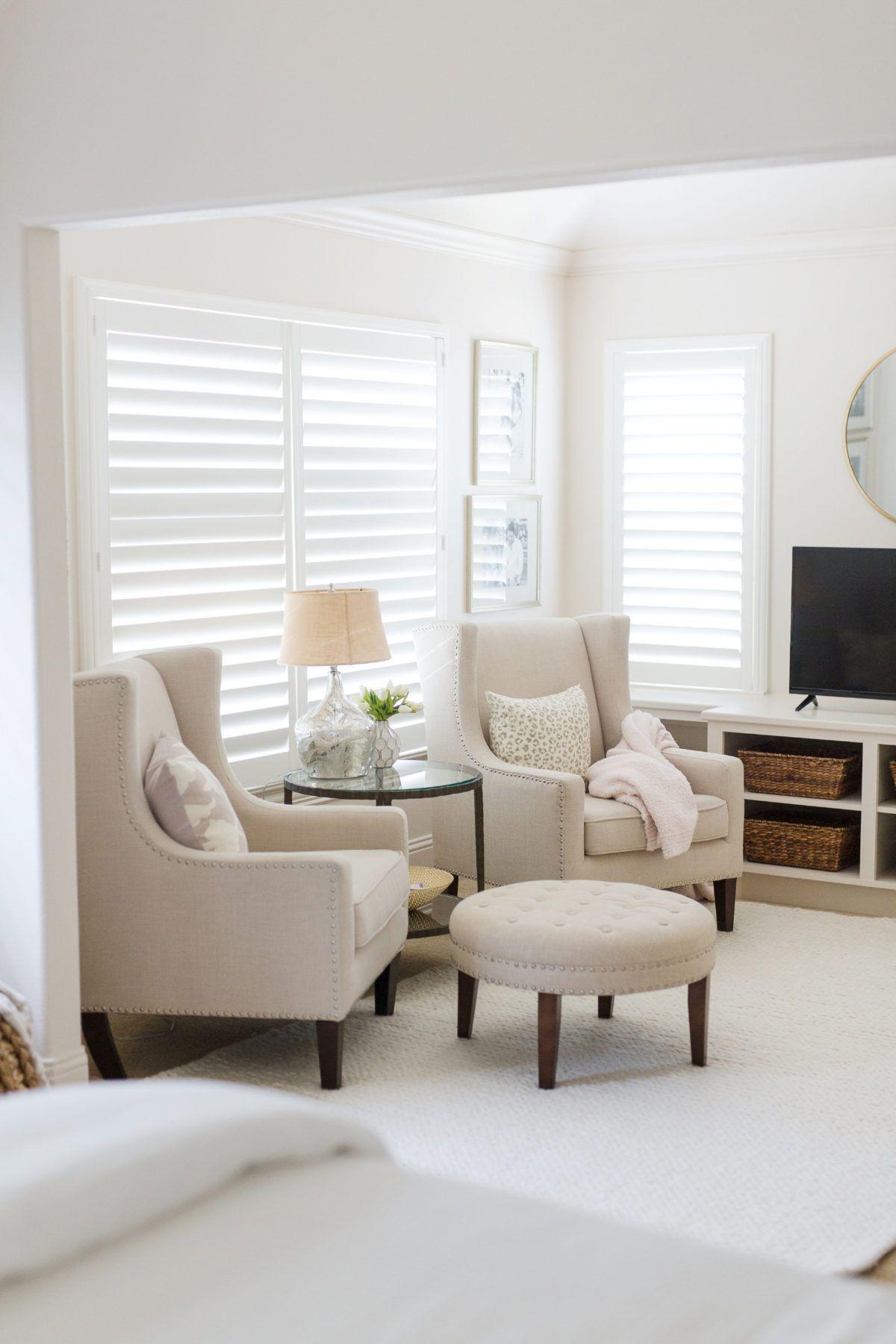 Master Bedroom Sitting Area Update Honey We Re Home In 2020