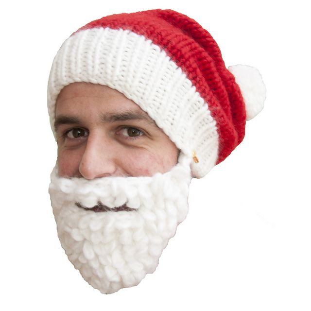 Ravelry: Santa beanie with beard pattern by Katie Mowat | Projects ...