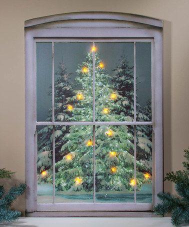 Loving This Glistening Pines Light Up Canvas On Zulily Zulilyfinds Lighted Canvas Art Light Up Canvas Radiance Lighted Canvas