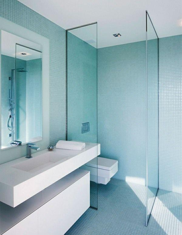 Mosaik Fliesen Badezimmer Duschkabine Glas Dies \ Das Pinterest - fliesen für badezimmer