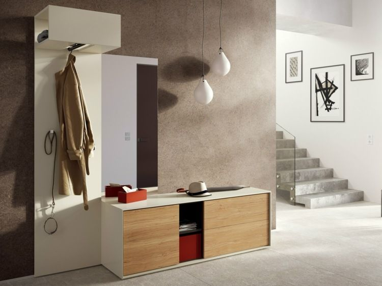 die garderoben idee von h lsta werke h ls ist modern und. Black Bedroom Furniture Sets. Home Design Ideas