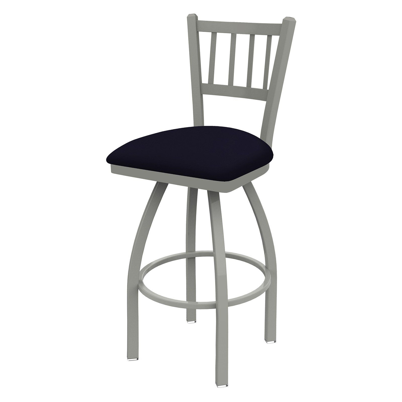 Holland Bar Stool Co Contessa Slat Back 36 In Extra Tall Swivel