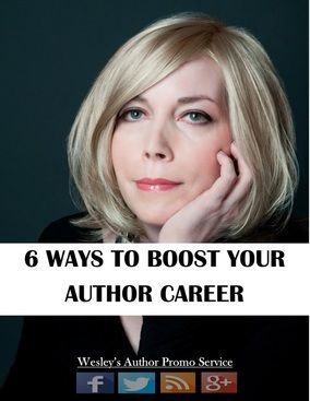 6 ways to boost your author career #amwriting #publishing