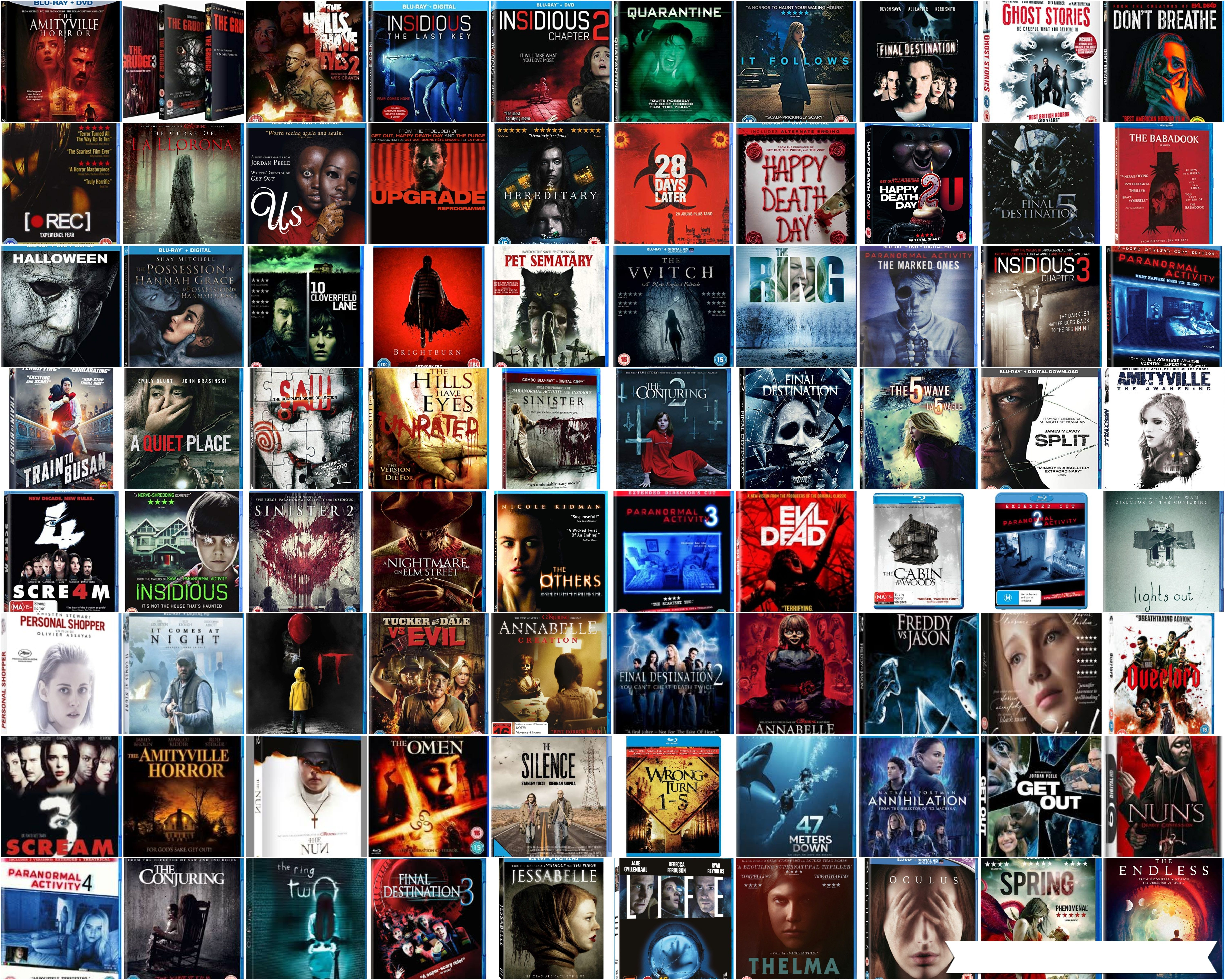 Download Best Horror Movies Collection 2000 2019 720p Bluray English Best Horror Movies Best Horrors Horror Movies