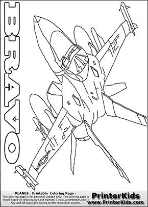panes bravo 1 flying machine coloring page based on disney