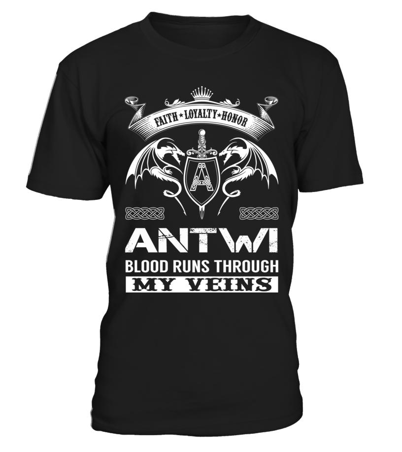 ANTWI Blood Runs Through My Veins