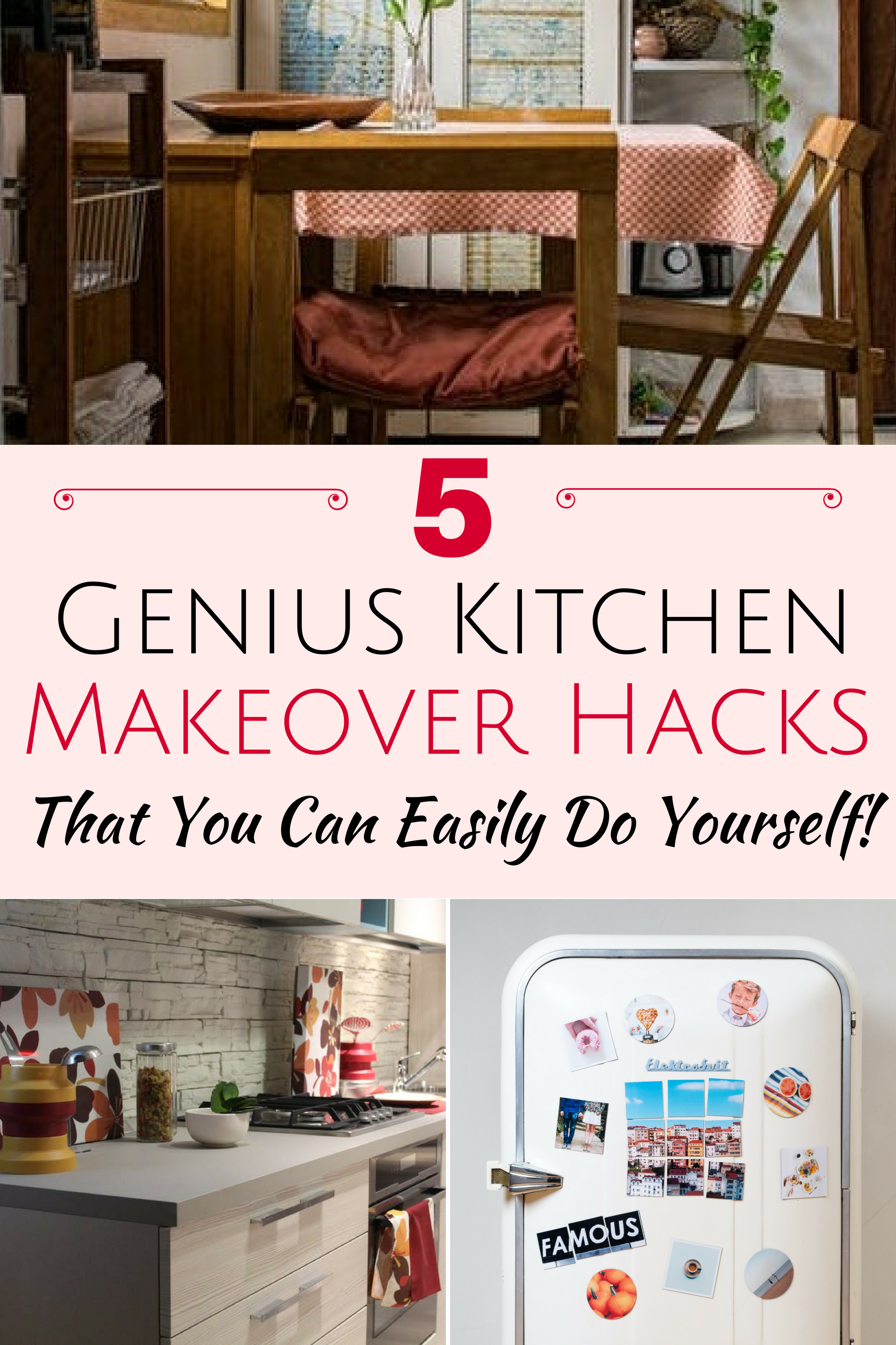 Discover 5 Kitchen Makeover Hacks That Ll Turn Your Kitchen Space