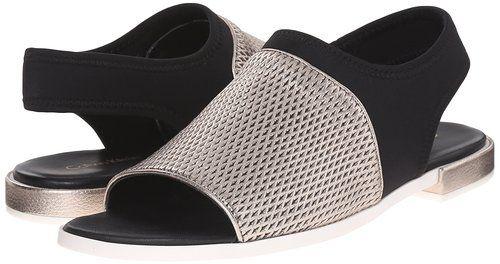 Amazon.com   Calvin Klein Women's Adina Flat Sandal   Flats