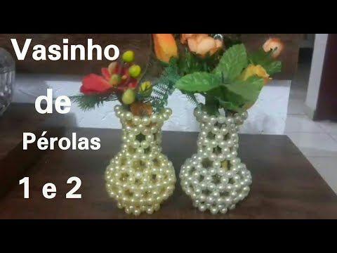 Diy Flower Vase Making How To Make Beaded Flower Vase Diy