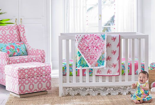 Lilly Pulitzer Exclusively For Pottery Barn Kids Pink