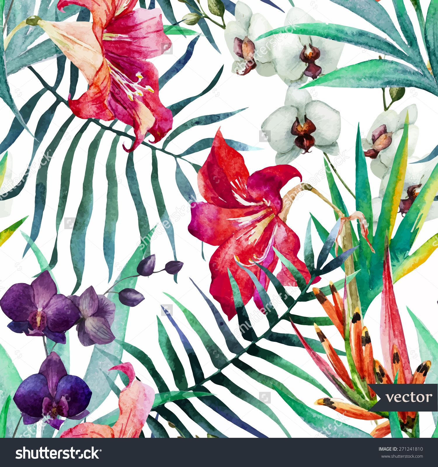 tropical wallpaper pattern - photo #45