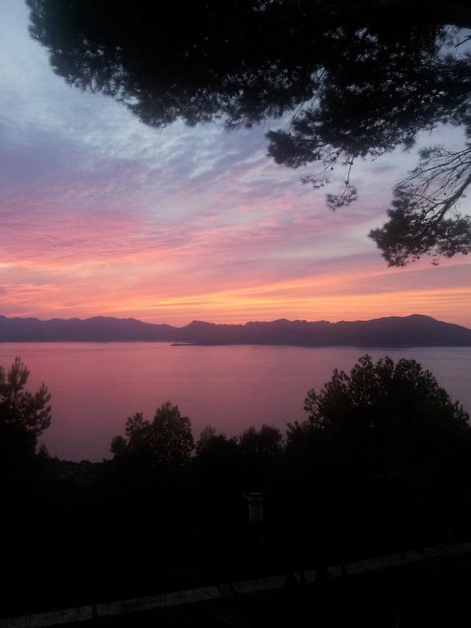 A mallorcan sunset is so pretty