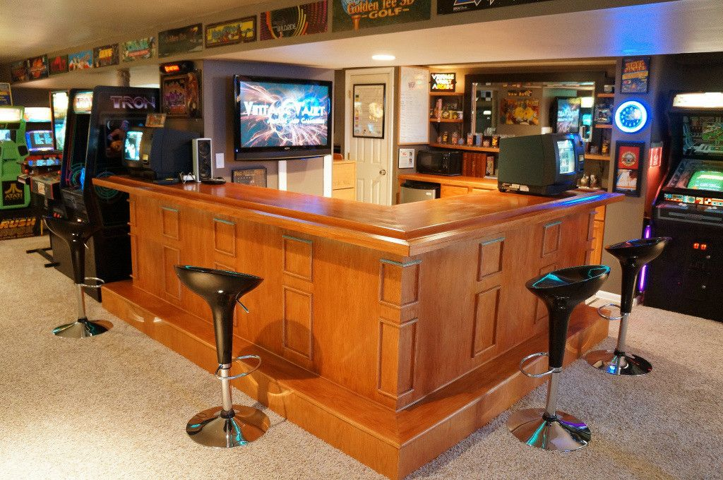 ultimate basement man cave. The Arcade MY Father And I Made In Basement. Basement Man CavesBasement Ultimate Cave