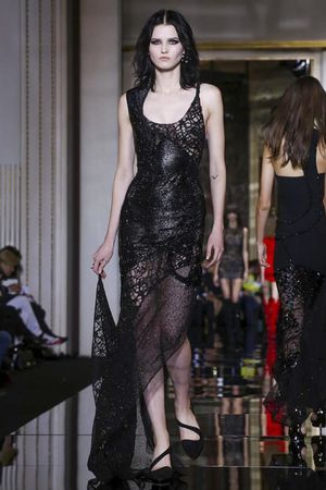 Versace Couture Spring Summer 2015 Paris - NOWFASHION