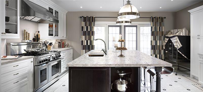 viatera aria new traditional kitchen ideas quartz