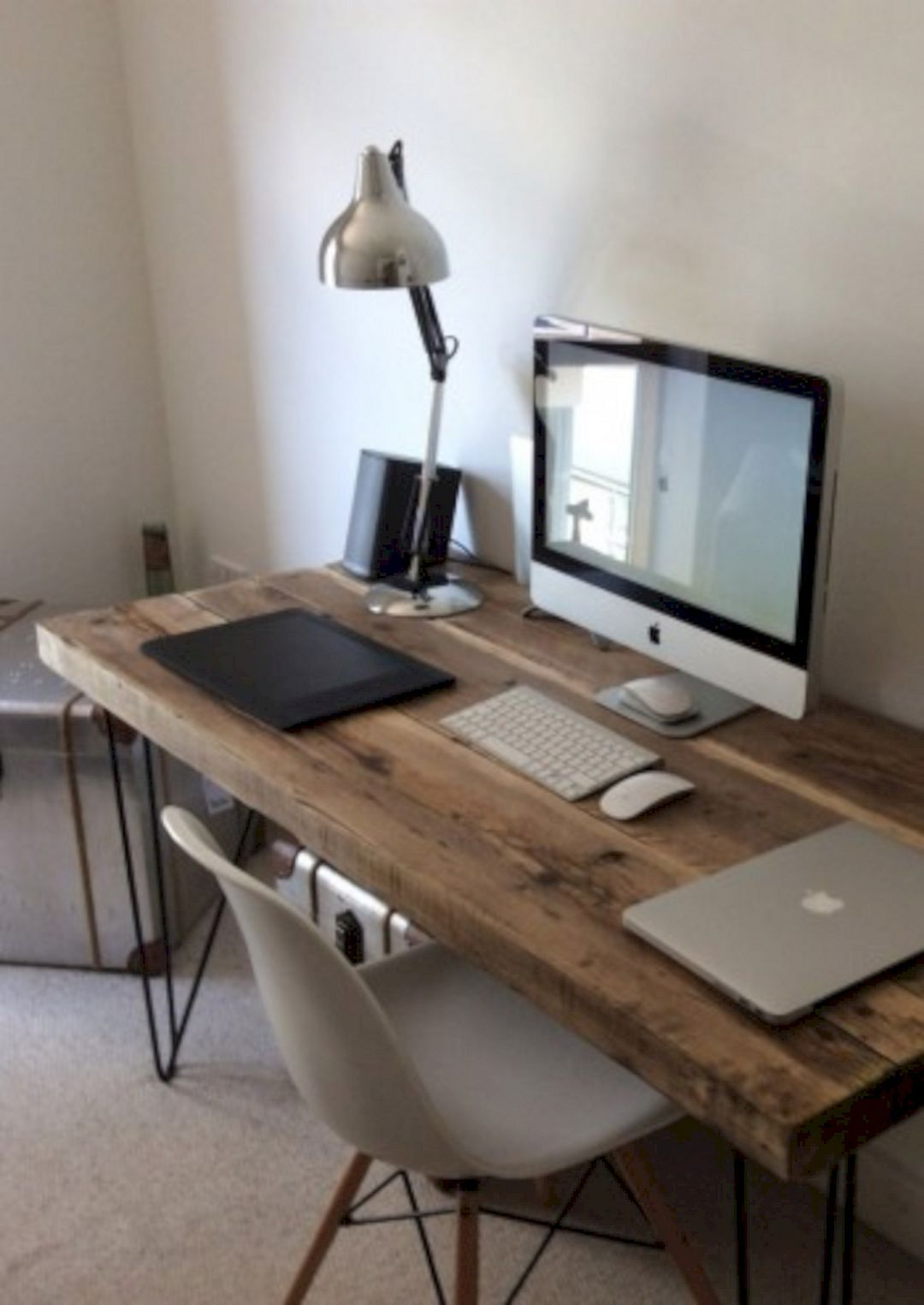 Apartment Computer Desk Pin By Karley Strongoli On Dream Home Home Office Design