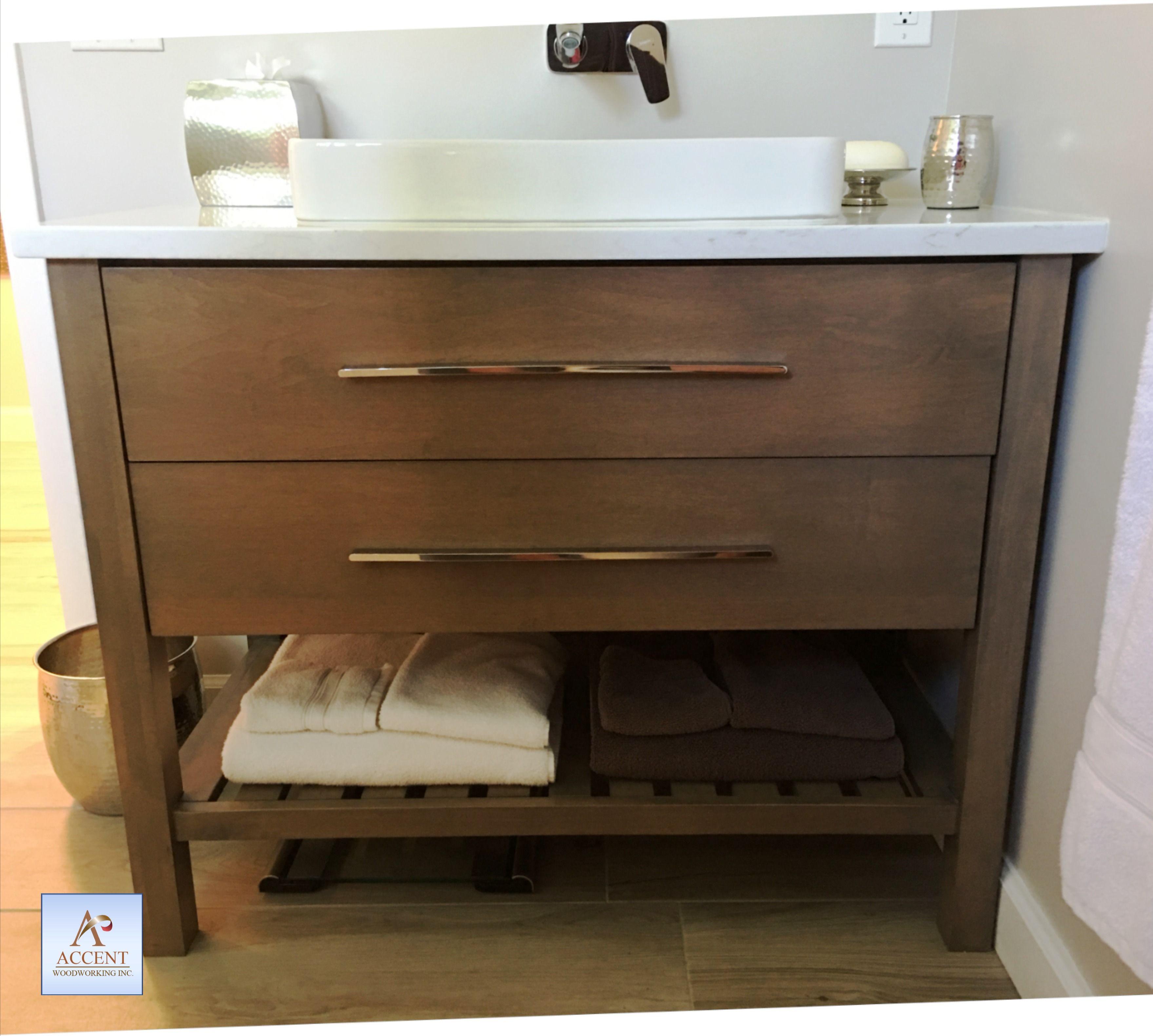 Custom Bath Vanity And Makeup Vanity Chest Custom Bathroom Vanity Bathroom Cabinetry Bathroom Vanity Cabinets [ 3162 x 3518 Pixel ]