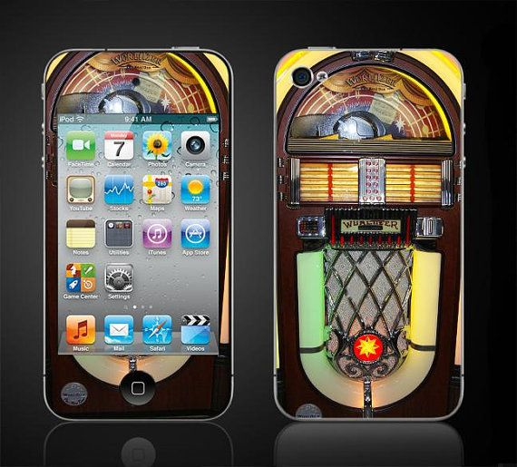 Make the old school new with this jukebox iPhone case