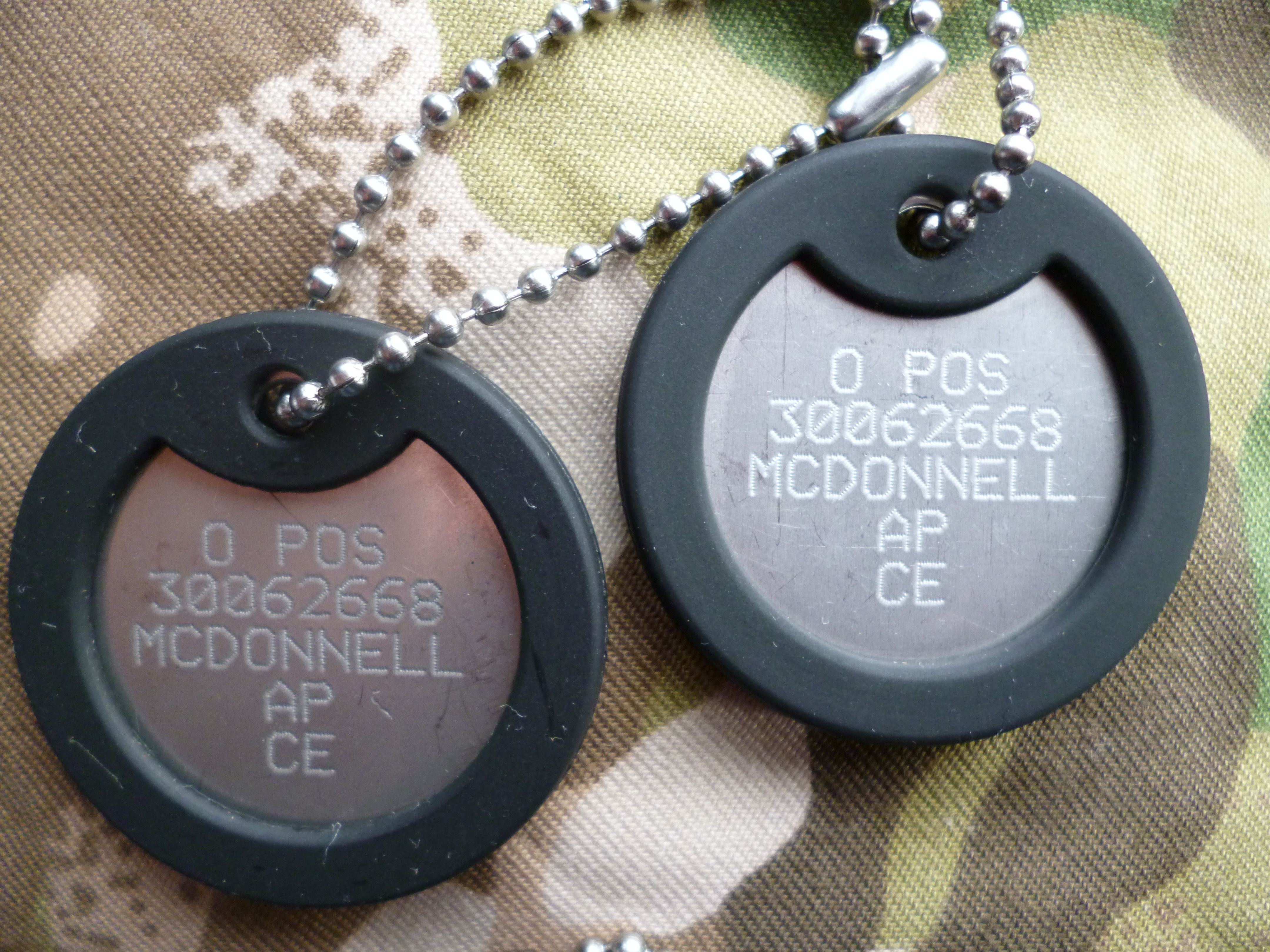 British Military Dog Tags Current Google Search Tattoos For