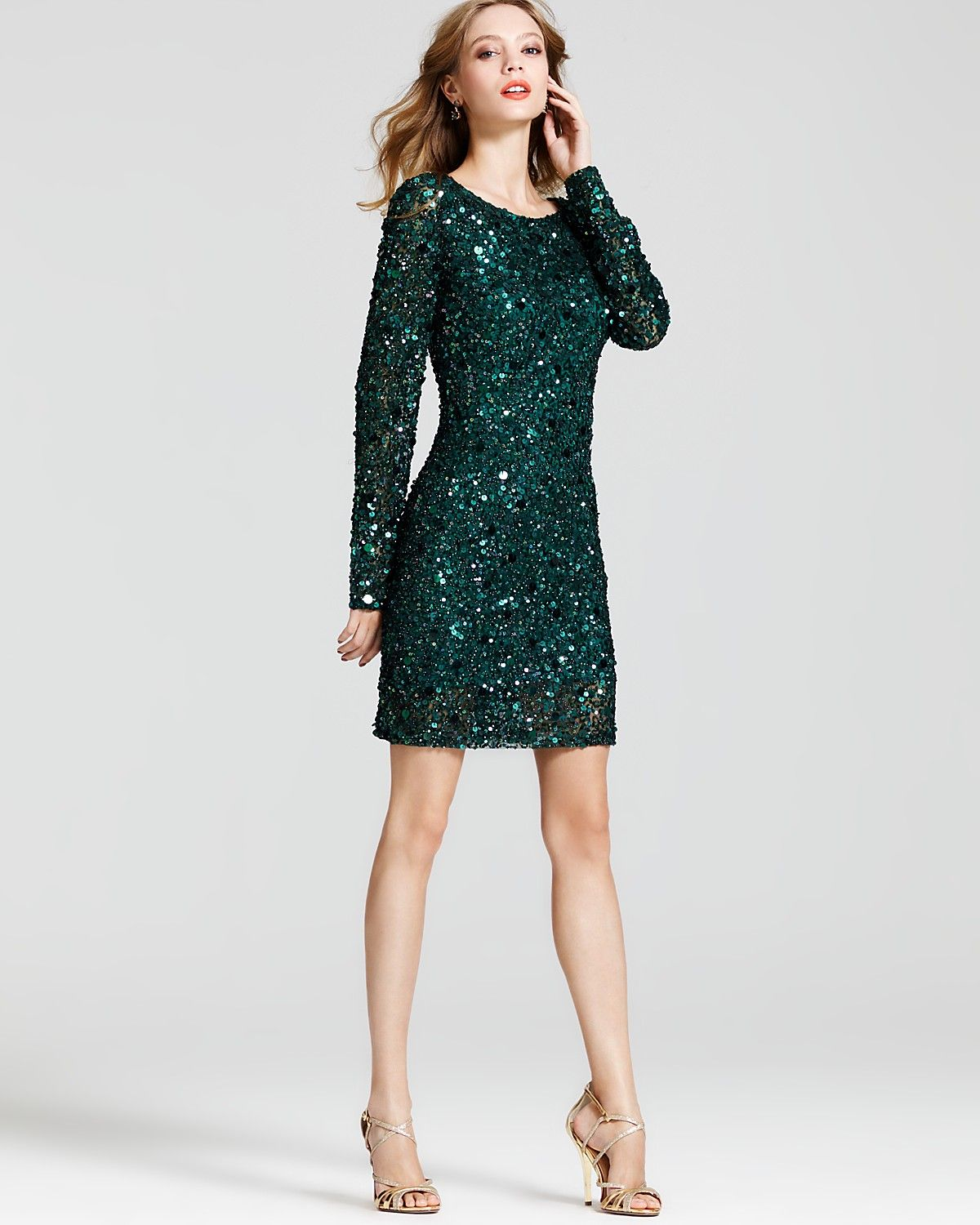 Dress: black dress, sequins, sequin dress, sparkle, sparkling ...