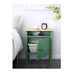 Hurdal mesilla de noche verde verde ikea pieza pame - Mesilla hemnes ikea ...
