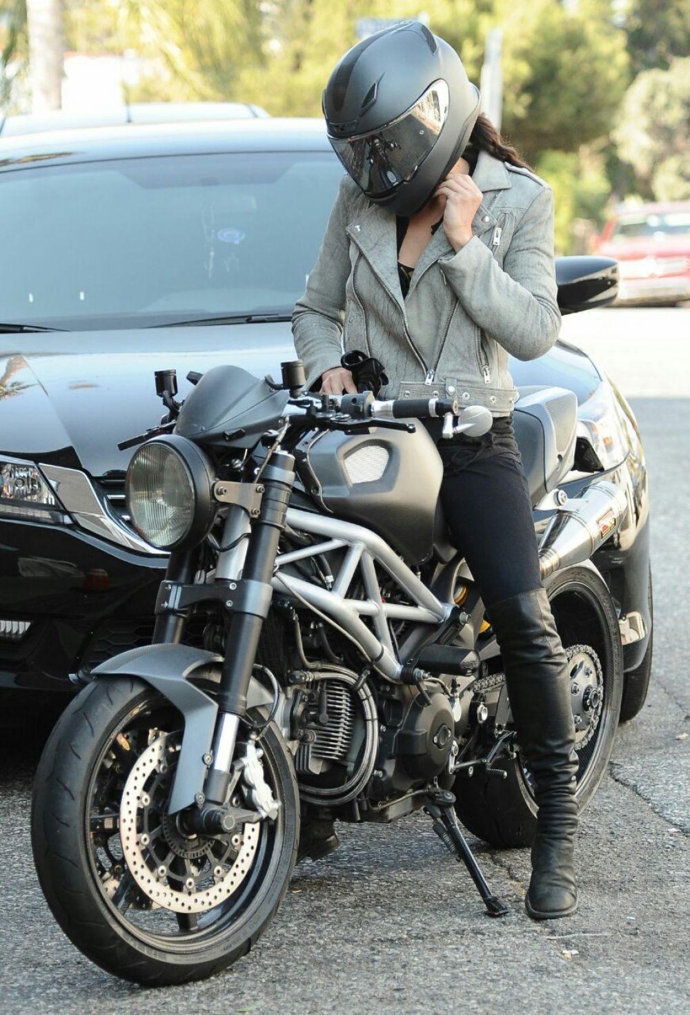 Michelle Rodriguez Letty Ortiz Fast And Furious Bike Motorcycle