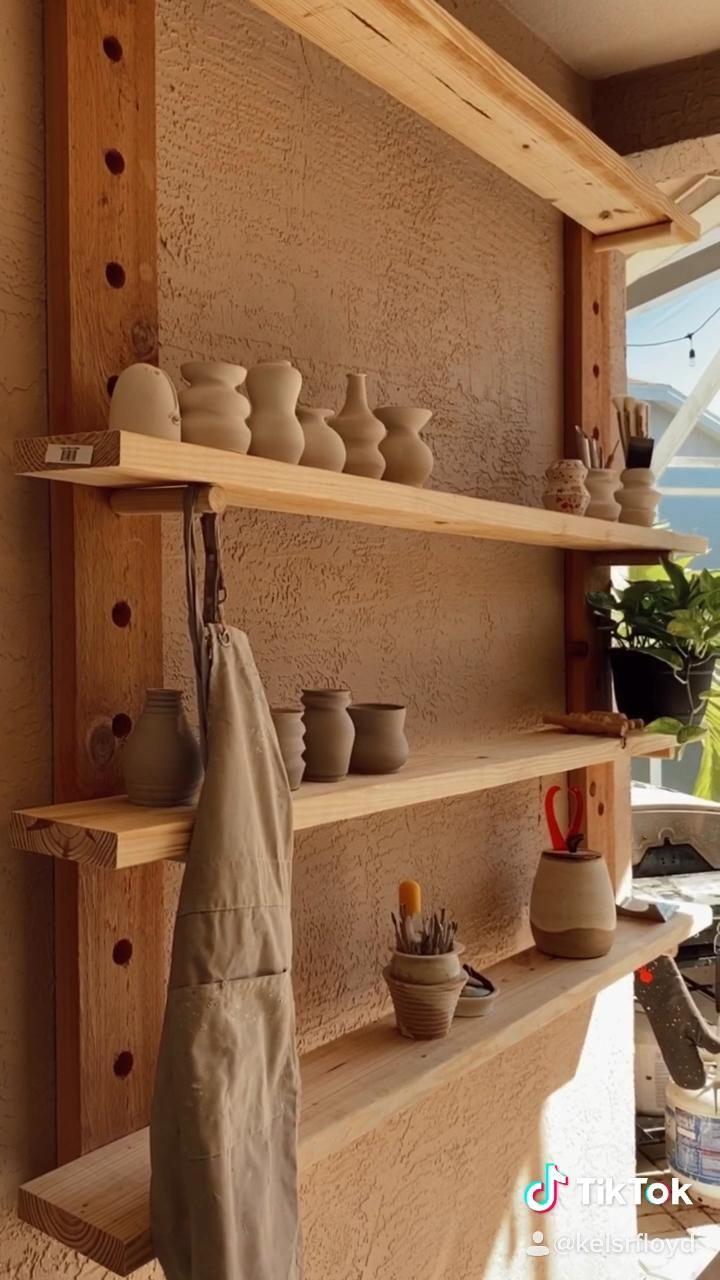 Photo of Pottery shelves xx