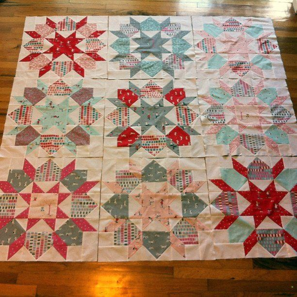 Swoon Pattern + Aneela Hoey fabric = Amazing!