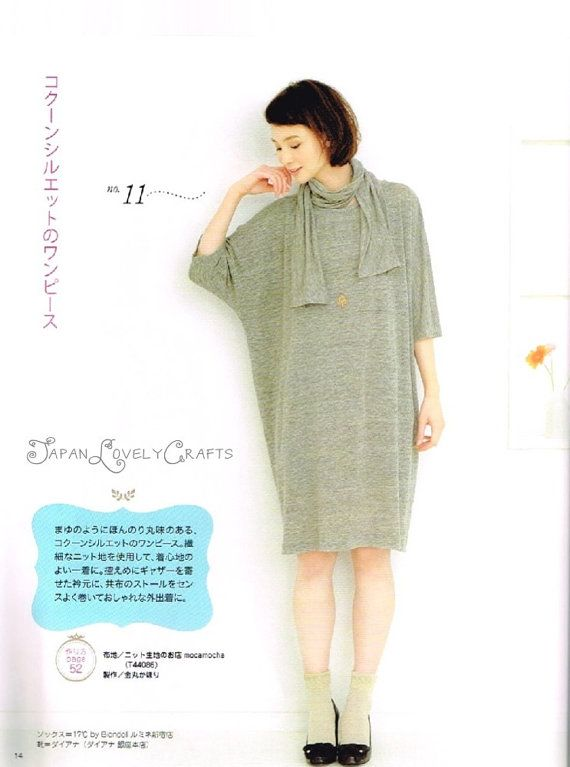 Easy & Kawaii One-Piece Dress - Japanese Sewing Pattern Book for ...