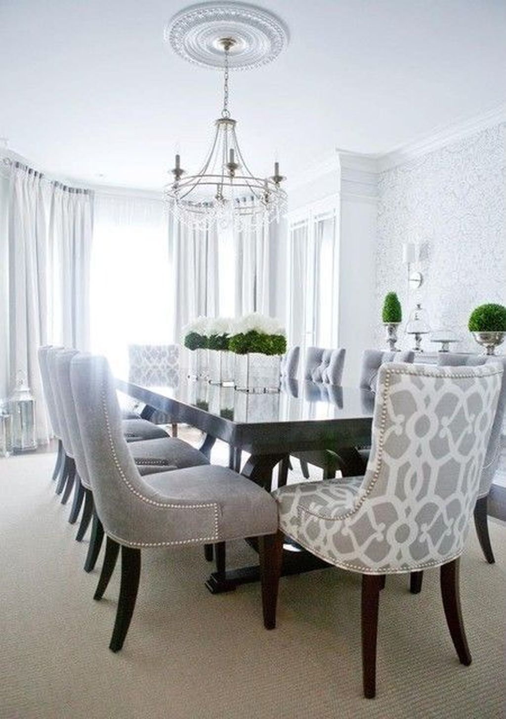 40 Classy Modern Contemporary Dining Room Ideas Trendehouse Classy Dining Room Grey Dining Room Chairs Luxury Dining Room