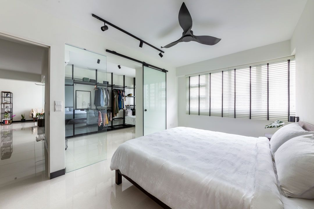 Here Are The Top 18 Most Liked Homes In Singapore For 2018 Bedroom Renovation Bedroom Interior Home