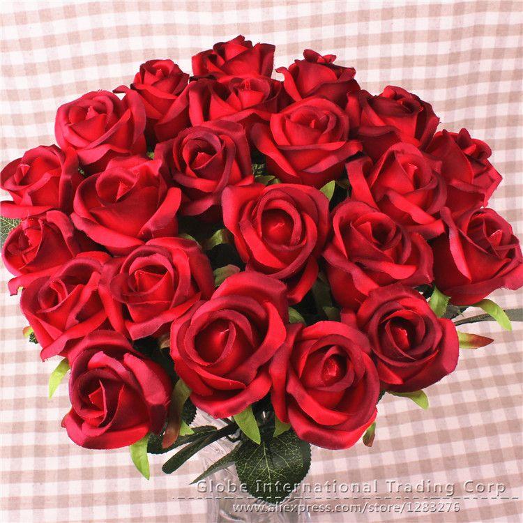 Aliexpress Com Buy 10pcs Lot Fresh Venus Rose Gerbera Artificial Flowers Real Touch Flower Home De Real Touch Flowers Flower Decorations Artificial Flowers