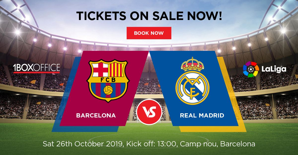 Barcelona Vs Real Madrid Real Madrid Tickets Barcelona Vs Real Madrid Madrid