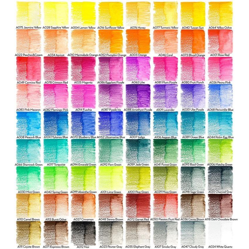 Arteza Woodless Watercolor Pencils Set Of 24 Pencil Drawings