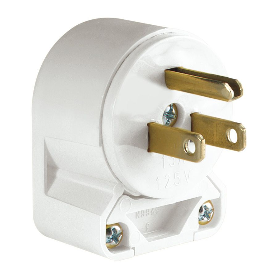 Cooper Wiring Devices 15 Amp 125 Volt White 3 Wire Plug Electrical Media Room Diagram