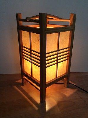 Details About Tarogo Hako Metal Paper Table Lamp Zen