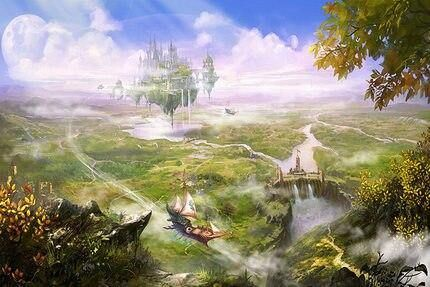 Photo of 1000 Pieces Flying Castle in Nature Jigsaw Puzzle – Flying castle