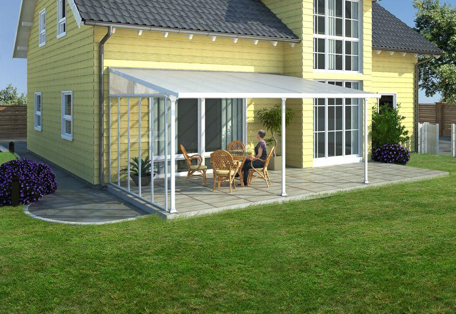 Une véritable plus-value pour la maison ! Carports et toit - gravier autour de la maison