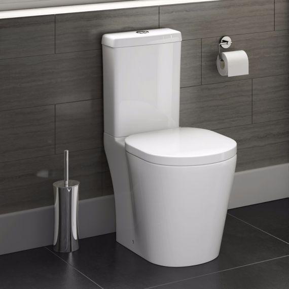 Staande Wc Pot Compleet.Albi Staand Toilet Compleet Met Spoelbak En Softclose