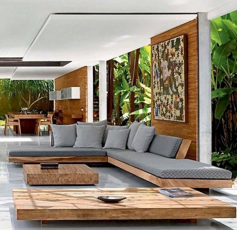 83 Stunning Stylish Outdoor Living Room Ideas To Expand Your Living Space Modern Living Room Interior Outdoor Living Rooms Luxury Living Room